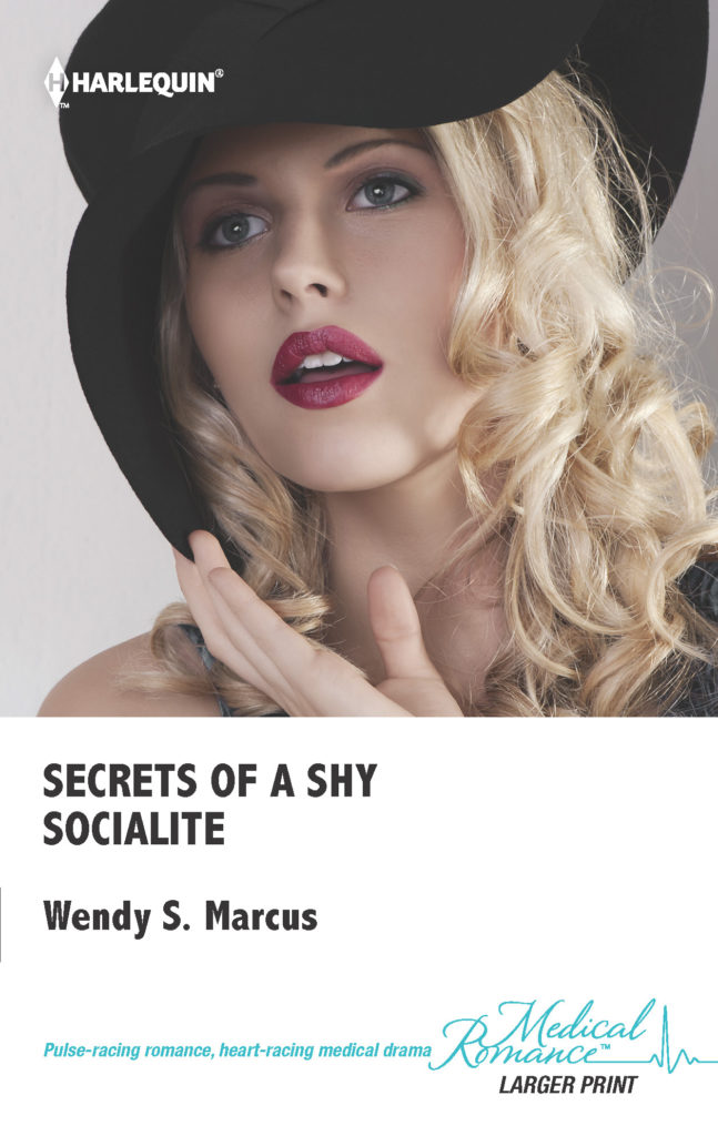 Secrets of a Shy Socialite US cover