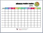 Reader Printable #5 – ARC (advance reader copy) Tracker