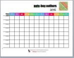 Reader Printable #5 – Auto-buy Authors